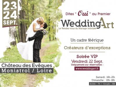 Affiche wedding art 2017