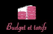 Budget et tarifs22