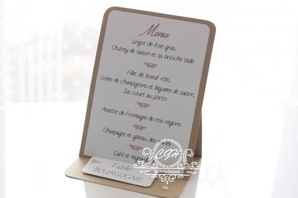 Cgh menu chevalet