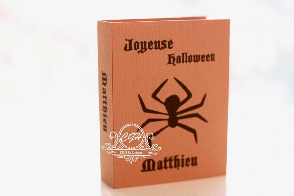 Cgh papeterie fine contenant bonbons halloween araigne e min