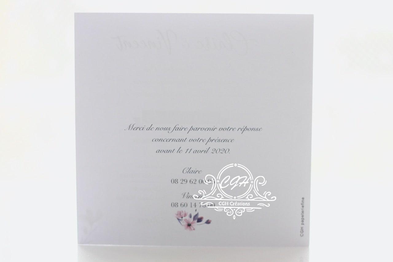 Cgh papeterie fine faire part mariage classique floral a3 min