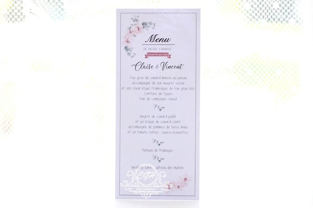 Cgh papeterie fine menu elegance fleuri min
